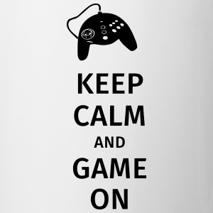 keep calm and game on Krus & tilbehør - Kop/krus