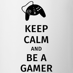keep calm and be a gamer Kubki i dodatki - Kubek