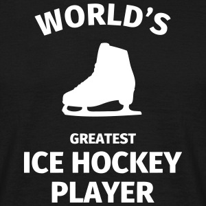 World's Greatest Ice Hockey Player Magliette - Maglietta da uomo