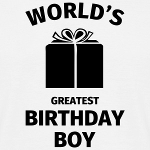 World's Greatest Birthday Boy T-skjorter - T-skjorte for menn