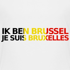 Je Suis Bruxelles Shirts - Teenage Premium T-Shirt