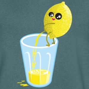 Pacific Lemon pees lemonade T-Shirts - Men's V-Neck T-Shirt