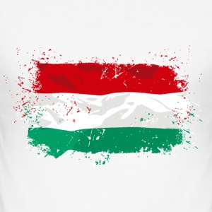 Hungary Flag T-Shirts - Männer Slim Fit T-Shirt