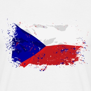 Czech Republic Flag T-Shirts - Männer T-Shirt