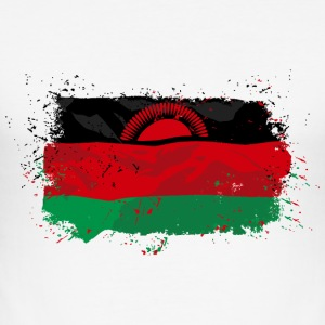Malawi Flag T-Shirts - Männer Slim Fit T-Shirt