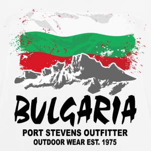 Bulgaria - Mountains & Flag T-Shirts - Männer T-Shirt atmungsaktiv