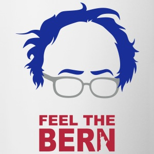 FEEL THE BERN - SANDERS - USA COLORS - Tasse