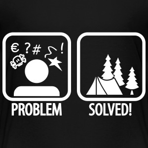 problem solved - camping Tee shirts - T-shirt Premium Enfant