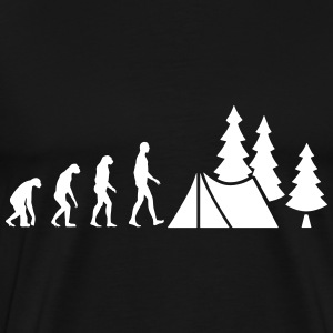 Evolution Camping Tee shirts - T-shirt Premium Homme