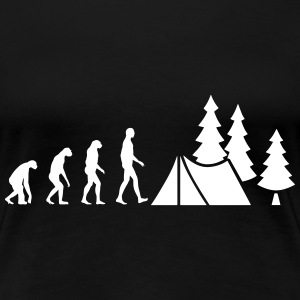 Evolution Camping T-Shirts - Women's Premium T-Shirt
