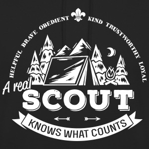 A real scout knows what counts Pullover & Hoodies - Unisex Hoodie