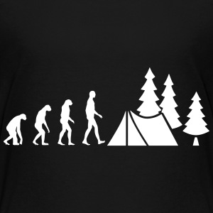 Evolution Camping Shirts - Teenage Premium T-Shirt