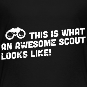 This is what an awesome scout looks like T-Shirts - Teenager Premium T-Shirt