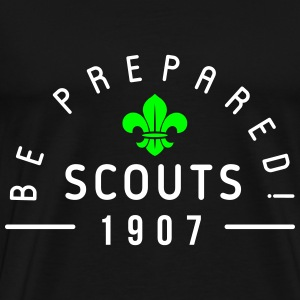 Scouts 1907 - be prepared Tee shirts - T-shirt Premium Homme