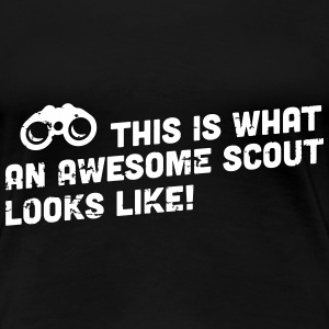 This is what an awesome scout looks like T-Shirts - Women's Premium T-Shirt