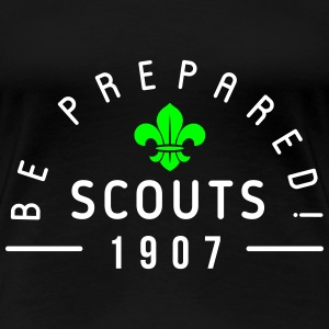 Scouts 1907 - be prepared Tee shirts - T-shirt Premium Femme