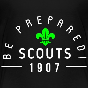 Scouts 1907 - be prepared Shirts - Kinderen Premium T-shirt