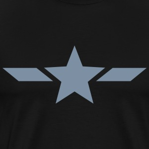 Stern, star, Held, hero, Superhero, Comics, T-Shir - Männer Premium T-Shirt