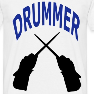 drummer T-Shirts - Men's T-Shirt