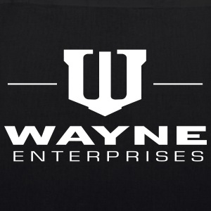 Batman 'Wayne Enterpreises' Tote Bag - Luomu-kangaskassi