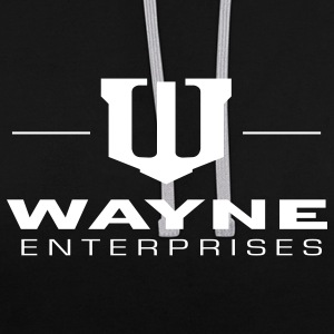 Batman 'Wayne Enterpreises' Pull  - Sweat-shirt contraste