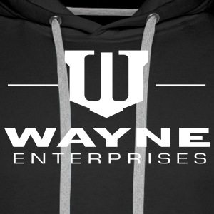 Batman 'Wayne Enterpreises' Men Hoodie - Premiumluvtröja herr