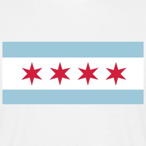 Flag of Chicago T-Shirts - Men's T-Shirt