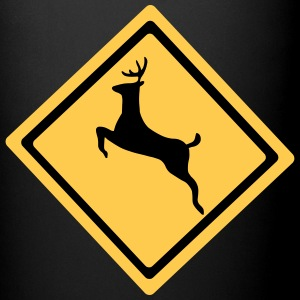 Deer Crossing Symbol Mugs & Drinkware - Full Colour Mug