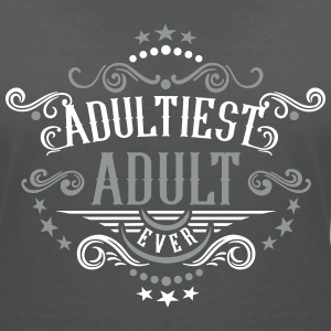 Adultiest Adult Ever 2C T-Shirts - Frauen T-Shirt mit V-Ausschnitt