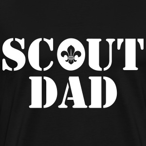 Scout dad Tee shirts - T-shirt Premium Homme