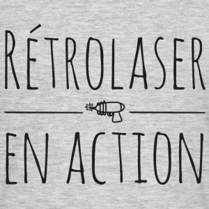 retrolaser en action - T-shirt Homme