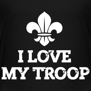 Pfadfinder: I love my troop Shirts - Teenager Premium T-shirt