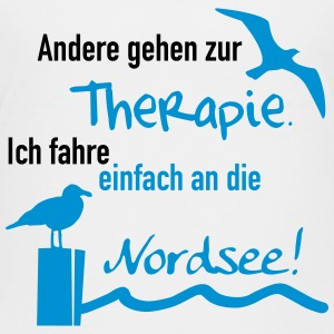 Therapie Nordsee T-Shirts - Teenager Premium T-Shirt