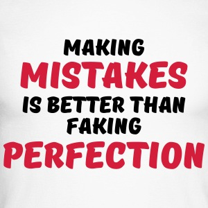 Making mistakes Long sleeve shirts - Men's Long Sleeve Baseball T-Shirt