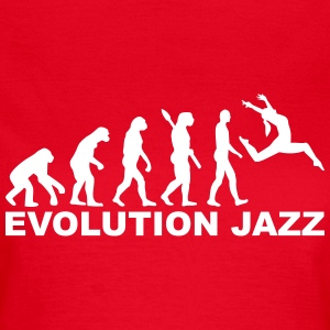 Evolution Jazz T-Shirts - Frauen T-Shirt