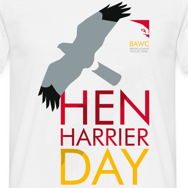 BAWC Hen Harrier Day Men's White T-Shirt