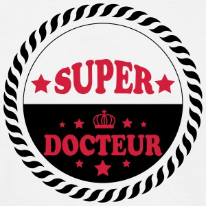 Super docteur T-shirts - Herre-T-shirt