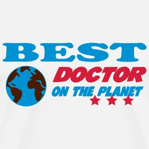 Best doctor on the planet T-shirts - Premium-T-shirt herr