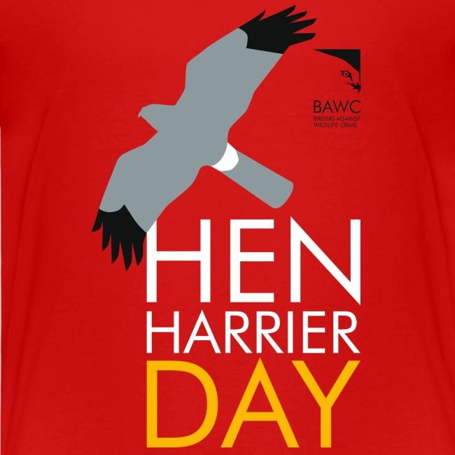 BAWC Hen Harrier Day Kid's T-Shirt