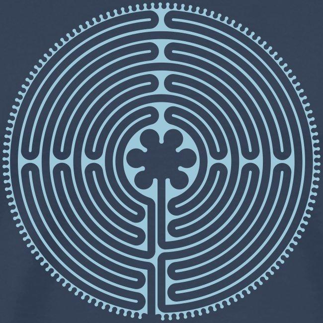 Labyrinth Männer vorne