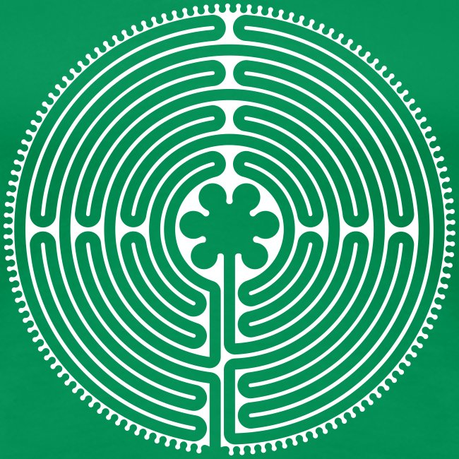 Labyrinth Frauen vorne