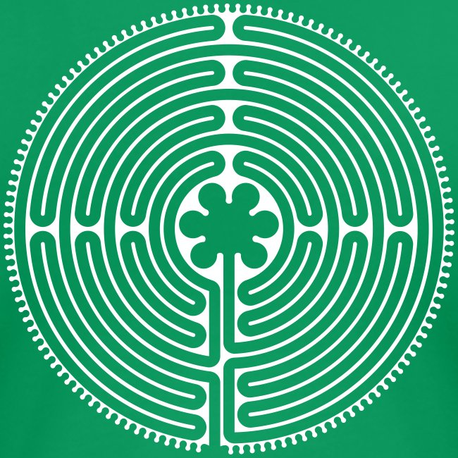 Labyrinth Frauen hinten