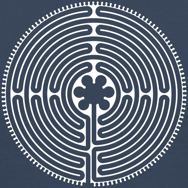Labyrinth Männer hinten