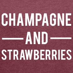 Champagne And Strawberries T-Shirts