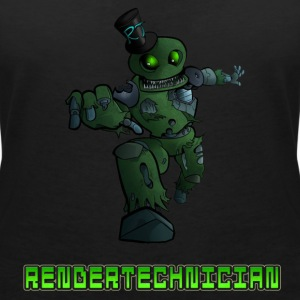 RenderTechnician V3 (Women's Tshirt) - Women's V-Neck T-Shirt