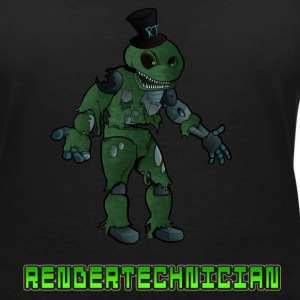 RenderTechnician V2 (Women's Tshirt) - Women's V-Neck T-Shirt