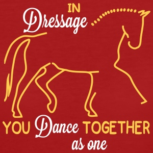 Dressage - you dance ... T-Shirts - Women's Organic T-shirt