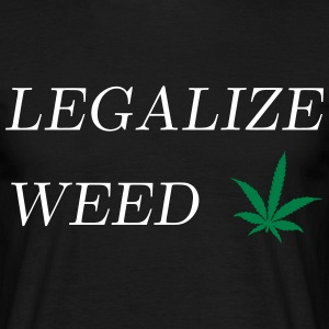 Legalize Weed T-shirts - T-shirt herr