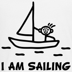 I am sailing Long Sleeve Shirts