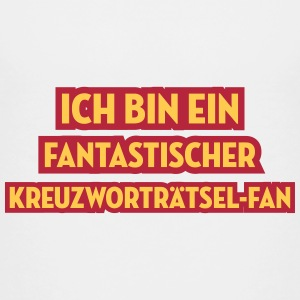 Kreuzworträtselfan Kreuzworträtsel Crosswords T-Shirts - Teenager Premium T-Shirt